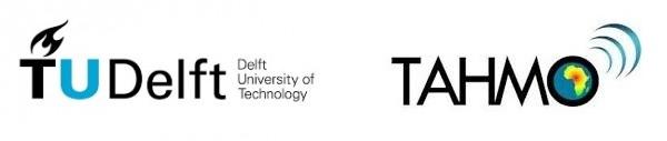 Logo TU Delft en TAHMO